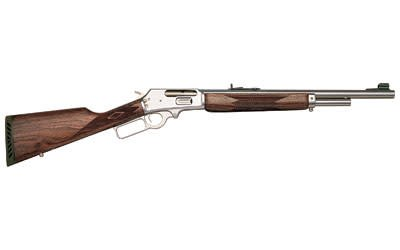 "MARLIN MARLIN 1895GS .45-70 18.5"" STAINLESS WITH WALNUT STOCK"
