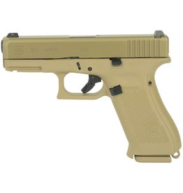 """GLOCK BLUE LABEL GLOCK 19X 9MM 4"""" FDE WITH GLOCK NIGHT SIGHTS ***LAW ENFORCEMENT ONLY***"""