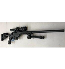 "HOWA CONSIGNMENT HOWA M1500 6.5 GRENDEL 20"" UPGRADED MDT CHASIS, BI POD & LEUPOLD MK AR 4-12X50"
