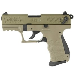 """WALTHER WALTHER P22 FDE .22LR 3.4"""" 1 10 ROUND"""