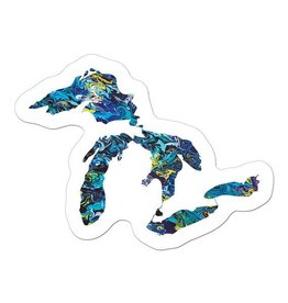 Mini Great Lakes Sticker