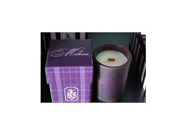 Scented Soy Wood Wick Candles