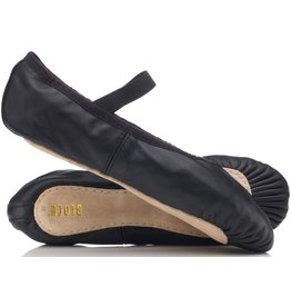 BLOCH GIRLS/BOYS BLACK FULL SOLE by Bloch