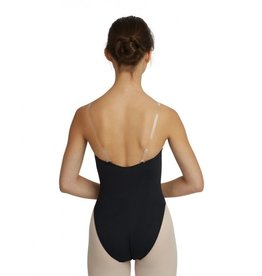 CAPEZIO CAPEZIO - CLEAR SHOULDER STRAPS