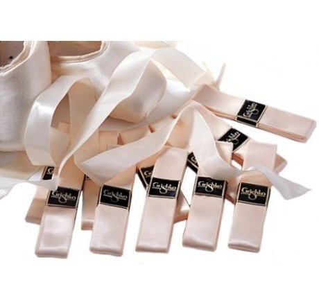 GRISHKO GRISHKO - 25mm Cream Satin Ribbon