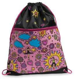 DANSHUZ Cool Dancers Drawstring Backpack