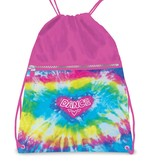 DANSHUZ Love Tie Dye Drawstring Backpack