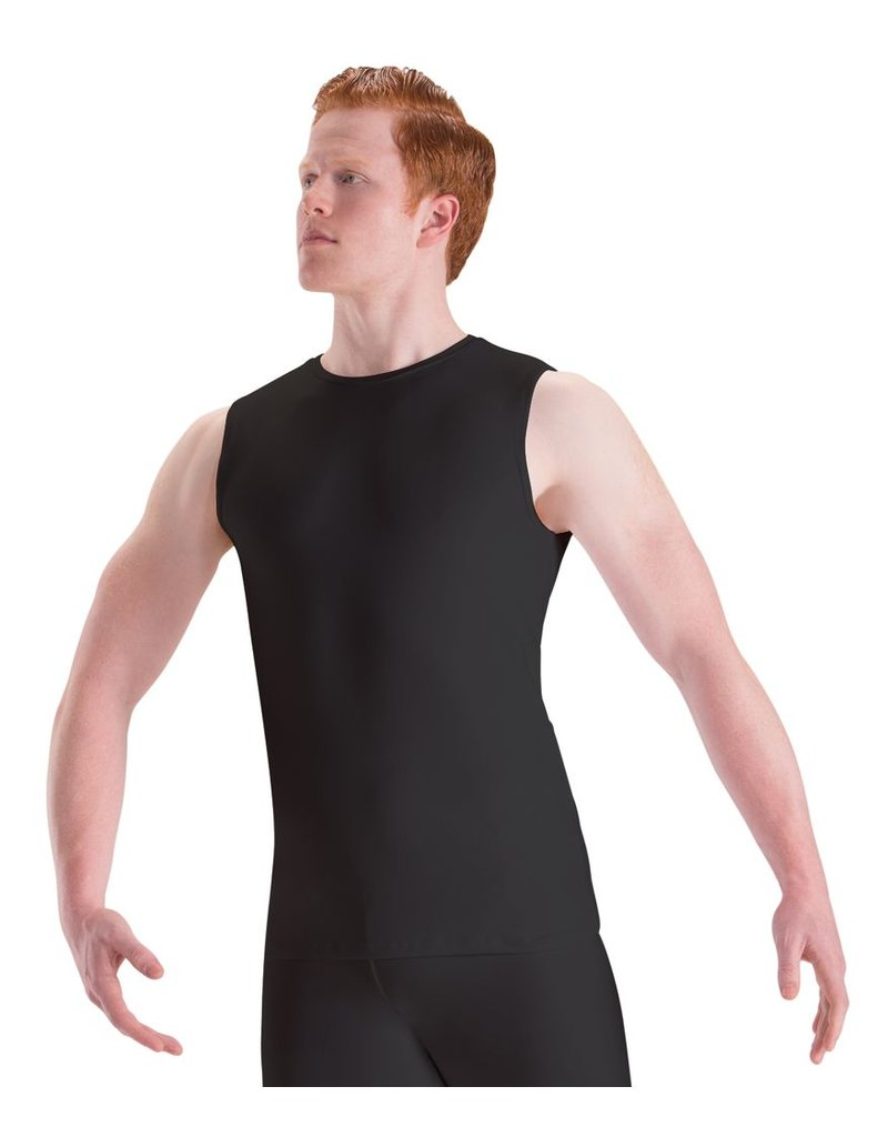 MOTIONWEAR MEN'S SLEEVELESS FITTED TOP by Motionwear