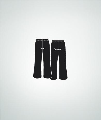 BODYWRAPPERS BOYS BLACK PANT by Bodywrappers