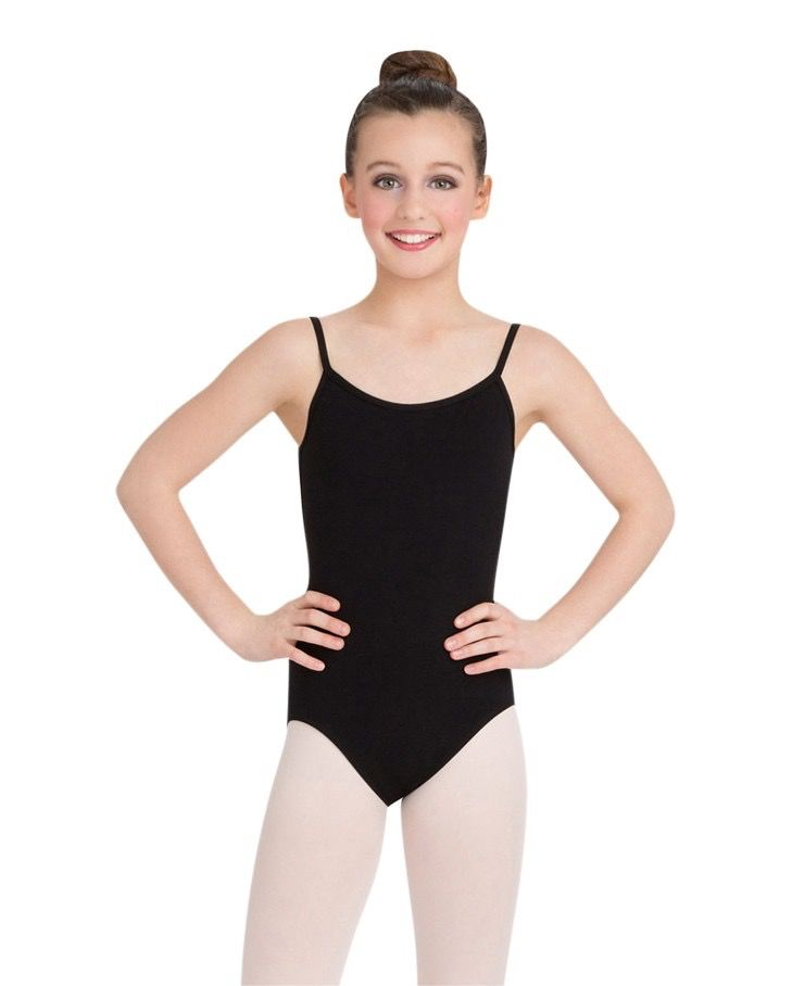 CAPEZIO CHILDS CAMISOLE WITH ADJUSTABLE STRAPS by Capezio