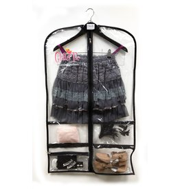 4 POCKET GARMENT BAG by Glitter Pie