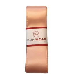 BUNWEAR PEACH PINK RIBBON 2.5 YRDS by Bunwear