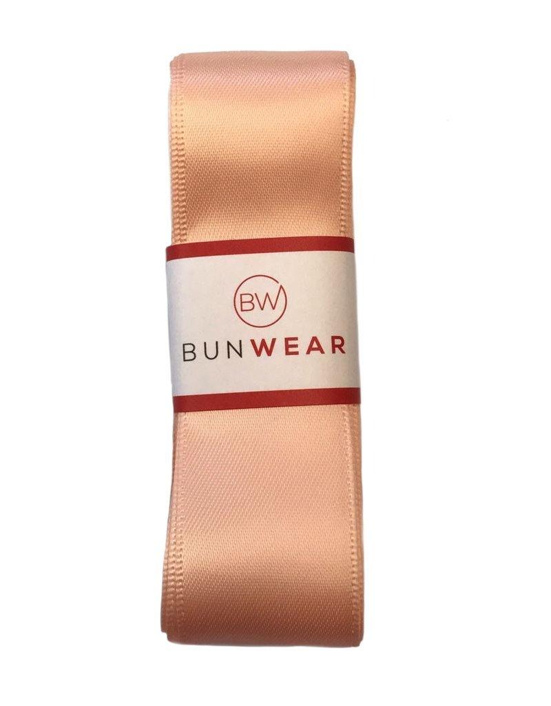 BUNWEAR PEACH PINK RIBBON 2.5 YRDS by Bunwear