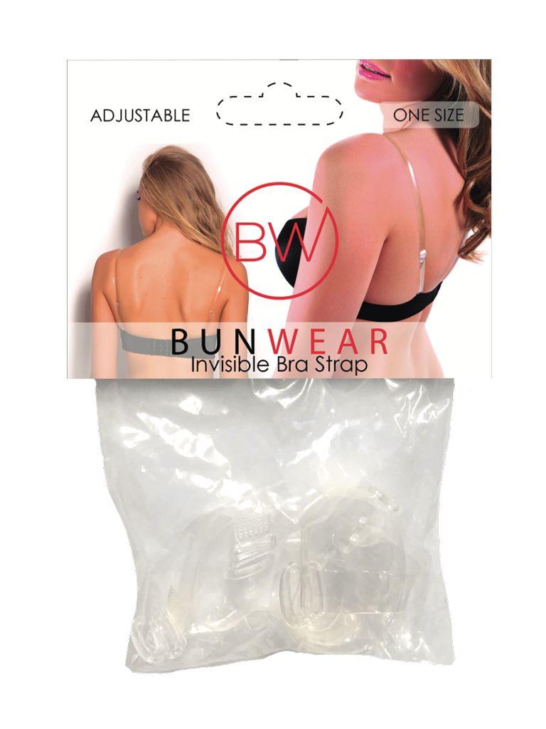 BALLOWEAR CLEAR BRA STRAP by Bunwear