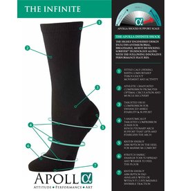 APOLLA PERFORMANCE WEAR THE INFINITE SHOCK WITH TRACTION