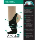 APOLLA PERFORMANCE WEAR THE ALPHA SHOCK WITH TRACTION - FEMALE