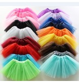BUNWEAR Fluffy Kids Ballet Tulle Skirt