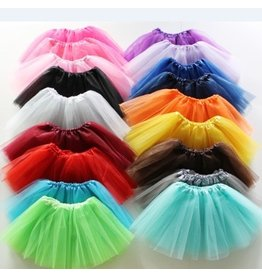 BALLOWEAR Fluffy Kids Ballet Tulle Skirt