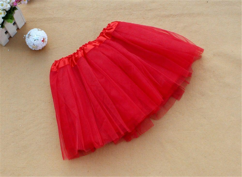 BALLOWEAR Fluffy Kids Ballet Tulle Skirt