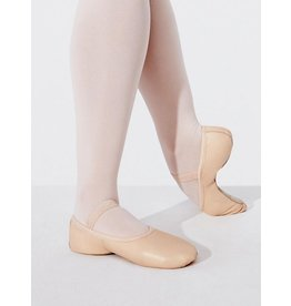 CAPEZIO LILY - CHILDS NO DRAWSTRING FULL SOLE BALLET SHOE By Capezio