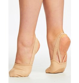 CAPEZIO HANAMI PIROUETTE STRETCH CANVAS HALF SOLE By Capezio