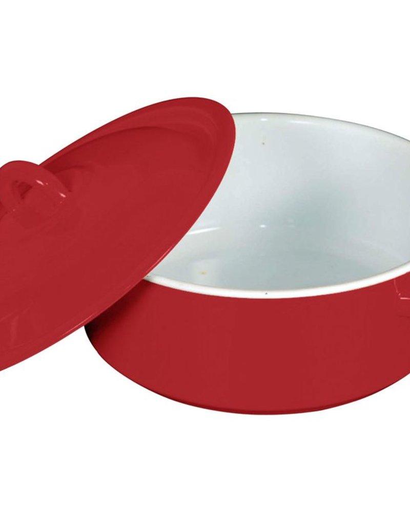 Budinera de Peltre no.20 Rojo