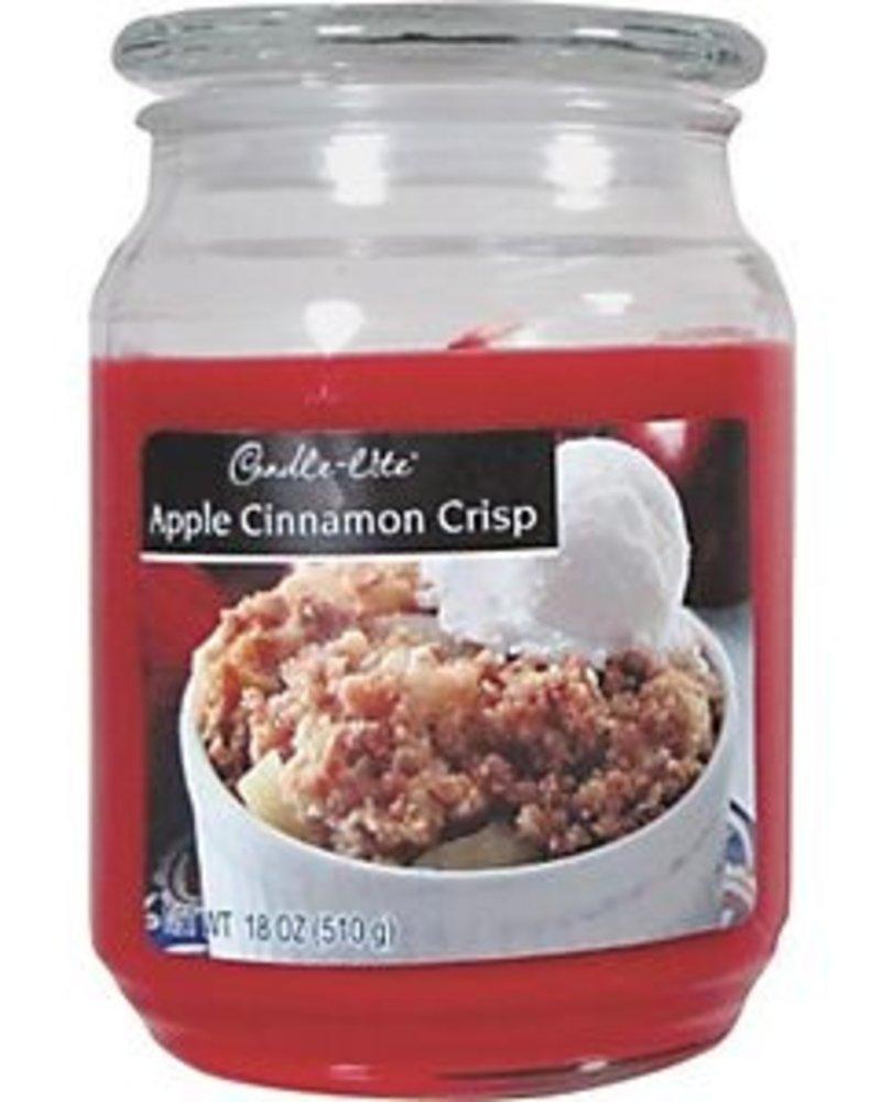 vela 18oz apple cinnamon crisp