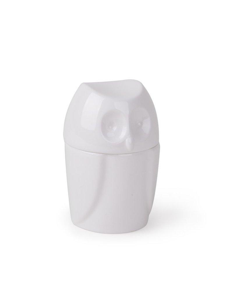 Buho foresta, contenedor de ceramica