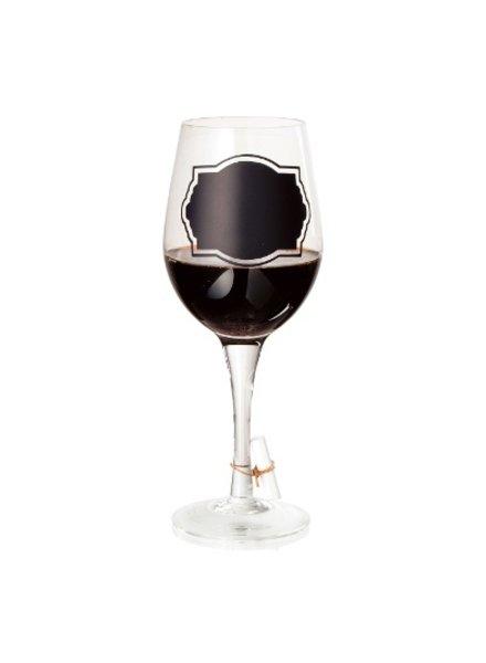 copa de vino pizarron 16oz