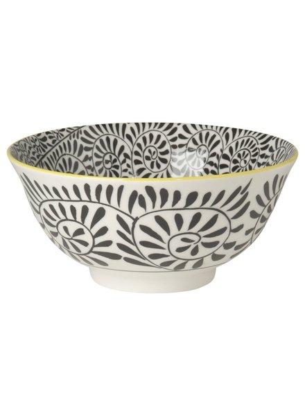 bowl akita amarillo-negro