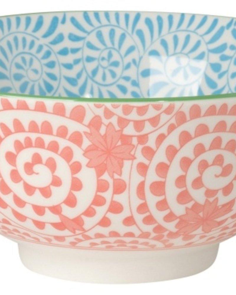 bowl akita naranja-azul claro