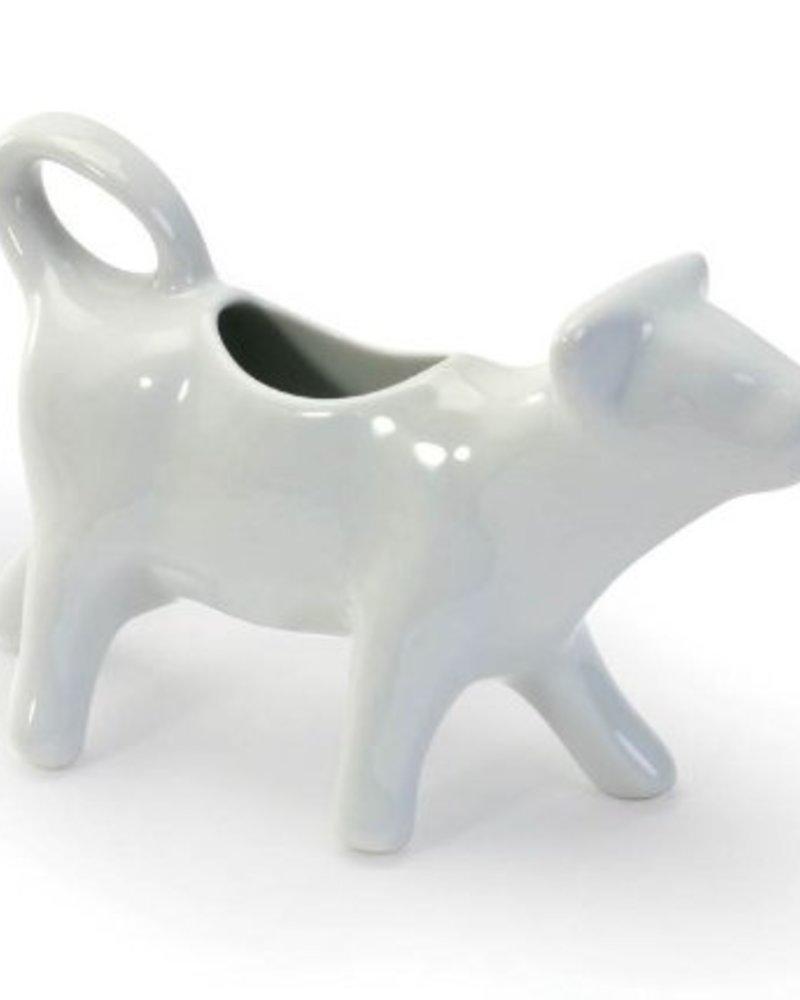 Vaca Cremera de ceramica Blanca 4oz