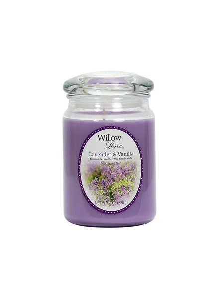 vela willow 19oz Lavanda vainilla