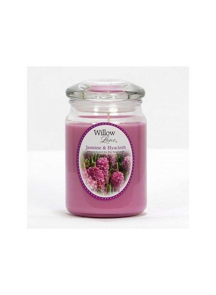 vela willow 19oz jasmin & hyacinth