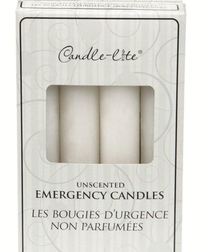 Paquete de 4 Velas de emergencia