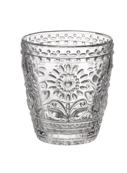 Vaso de vidrio justine flower