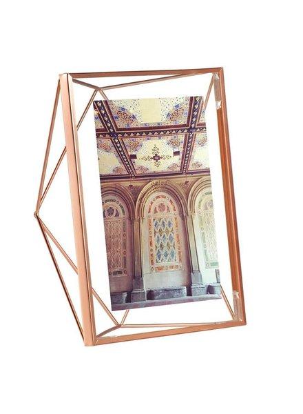 Prisma portaretratos 13 x 18 cm  cobre