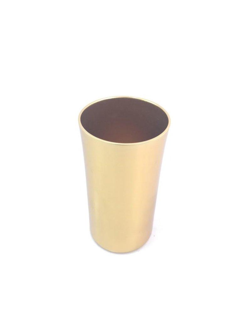 vaso jaibolero largo anonizado oro brillante
