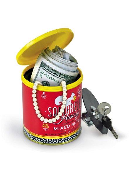 Caja de seguridad lata de nueces