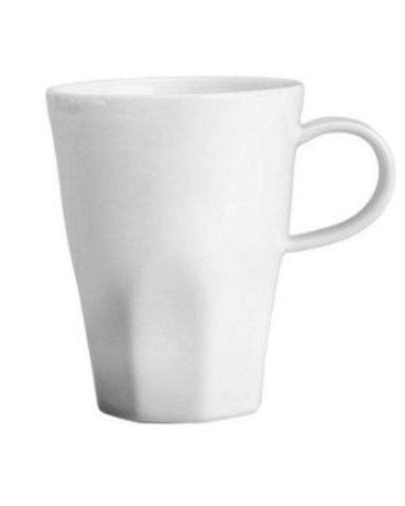 Tarro Bevin de Ceramica Blanca