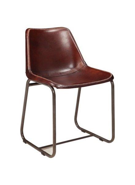 """silla de cuero 24"""""""