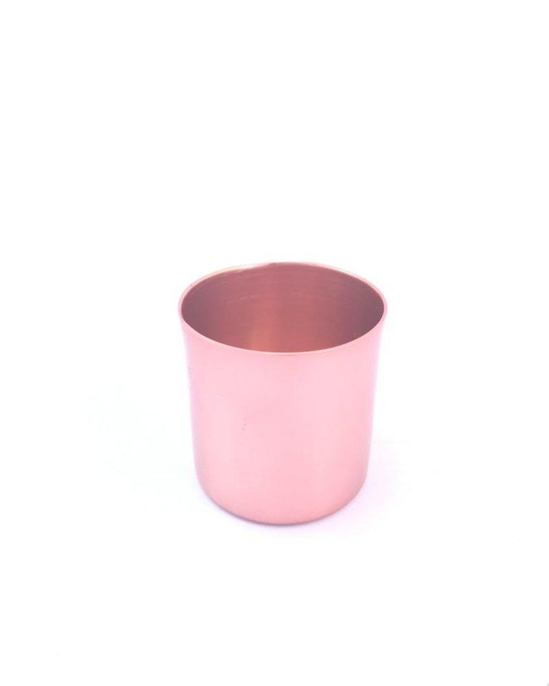 mezcalero recto aluminio anodizado cobre brillante