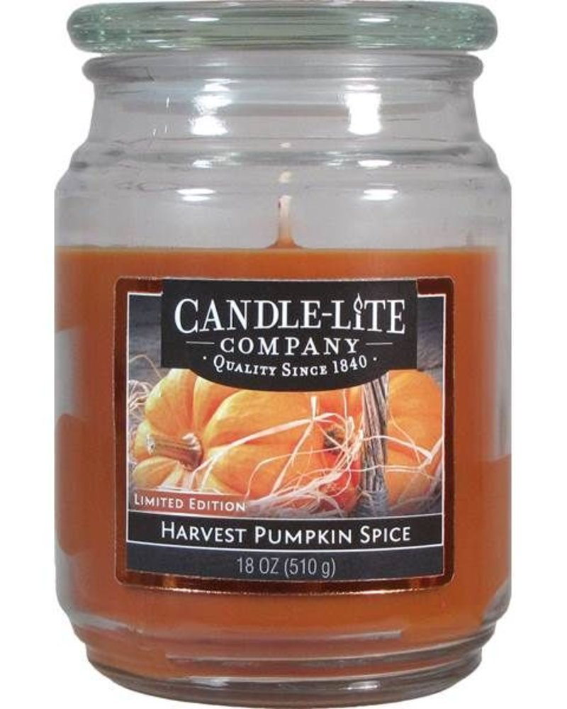 vela 18oz harvest pumpkin spice