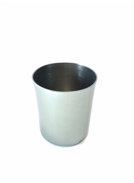 mezcalero recto aluminio anodizado palladium brillante