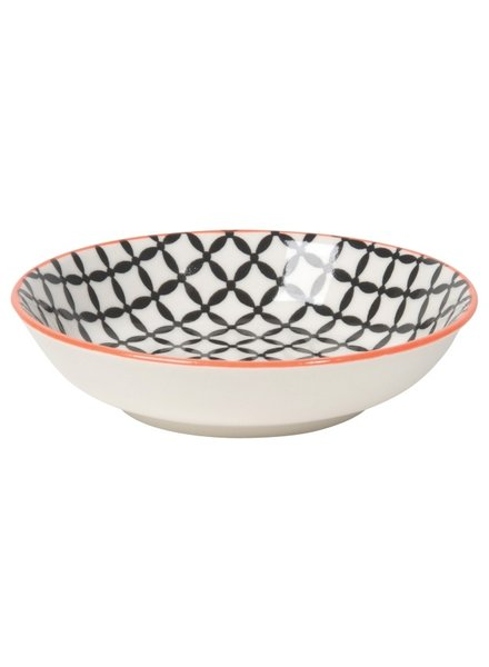 bowl dipper negro - rojo