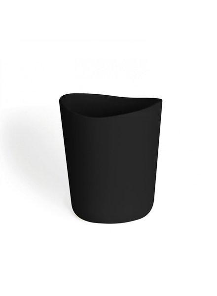 Kera bote de basura  negro