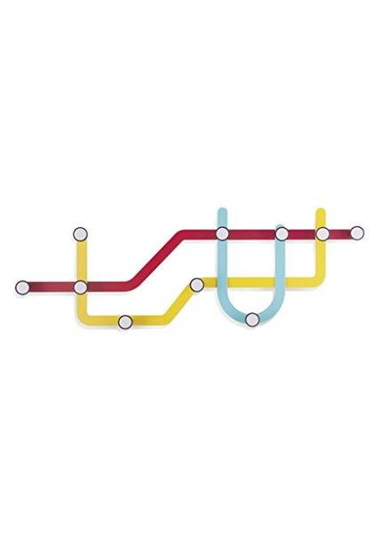 Subway multi perchero colores