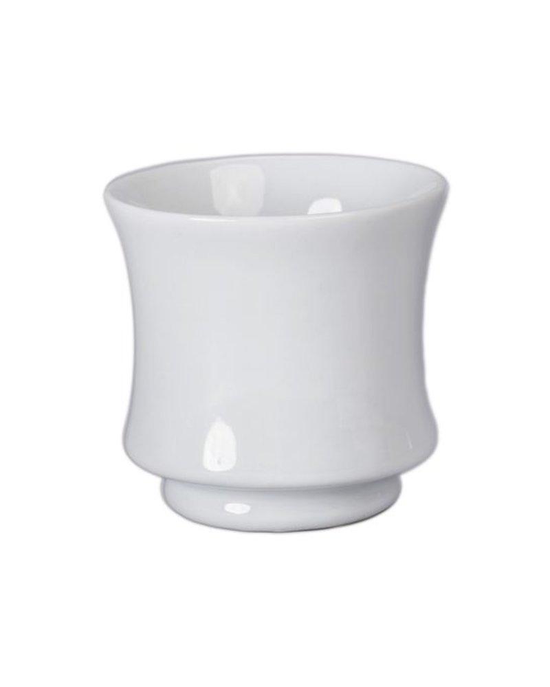 taza blanca para te