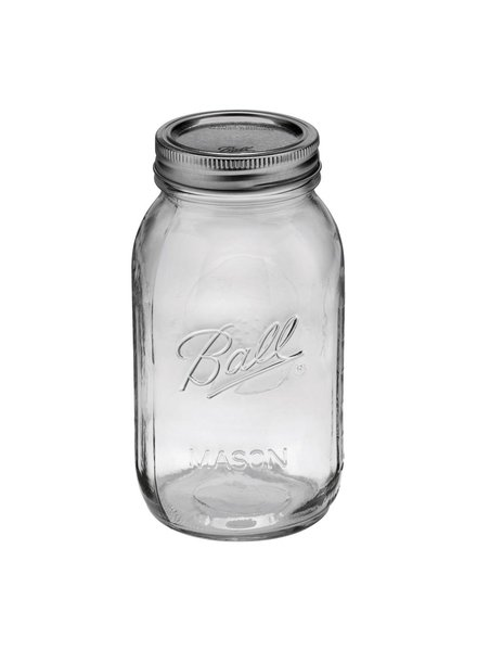 Frasco Ball 1 Quart 32oz Boca Regular