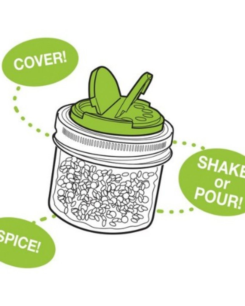 jarware tapa especiera para mason jars